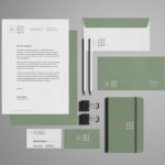Free Stationery Branding Mockup – Free Version