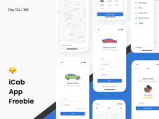 iCab - Free Booking App Sketch