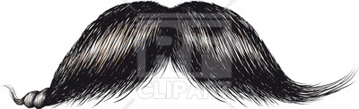 Real Mustache Free Vector Image