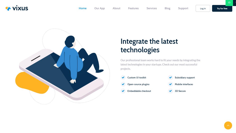Vixus WordPress Theme