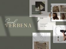 Free Verbena Instagram Templates
