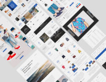 Free Aware eCommerce UI Kit (Sketch, PSD)